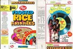Frosted Rice Krinkles Jackson 5 Box