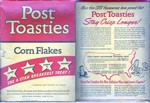 Vintage Post Toasties Box - Front & Back