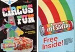 1986 Circus Fun Cereal Box