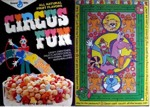 Circus Fun Cereal Box