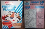 Huckleberry Hound Frosted Flakes Box