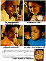1970 Team Cereal Magazine Ad