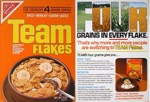 Team Flakes Cereal Box