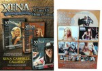 Xena Cereal Sell Sheet And Box Back