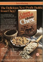Introducing Crispy Oatmeal And Raisin Chex