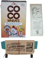 Coco Wheats Box, Ad & Premium