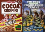 Cocoa Krispies Prehistoric Tracks Box