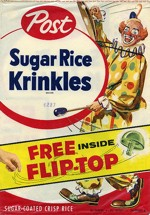 Sugar Rice Krinkles Flip-Top Box