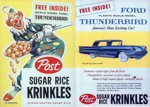 Sugar Rice Krinkles Thunderbird Box