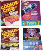 1989 Ralston Cookie Crisp Boxes