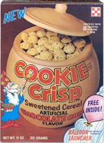 Late 70s Cookie-Crisp Box