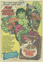 Cookie-Crisp Comics Ad