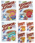 Early 90s Cookie-Crisp Boxes
