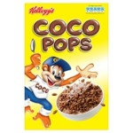 Coco Pops Cereal Box (U.K.)
