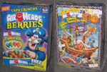 Airheads Berries Cereal Box