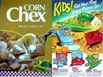 Corn Chex Space Patrol Box