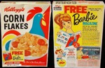 Corn Flakes Box - Barbie Magazine