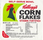 1964 Corn Flakes Self-Serve Bowl