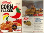 Corn Flakes Ski-Doo Box