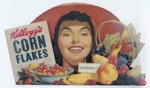1951 Kellogg's Corn Flakes Display