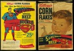 Corn Flakes Superman Belt Box