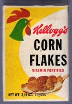 Kellogg's Corn Flakes Single Serving Box