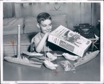 1956 Corn Flakes Press Photo