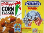 Corn Flakes Captain Power Box