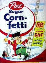 Sugar Corn-fetti  Box w/ Captain Jolly