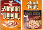 Almond Delight Cereal Box