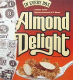Almond Delight Historic Currency Box